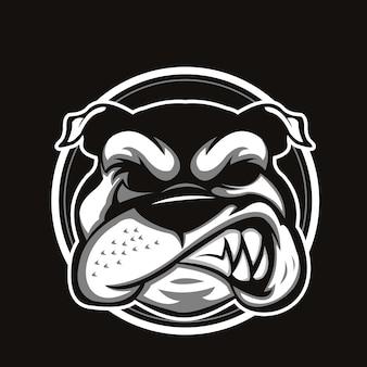 Tête de bulldog