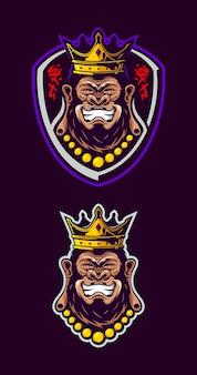Tête de gorille budha
