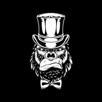 Tête de gorille mafia