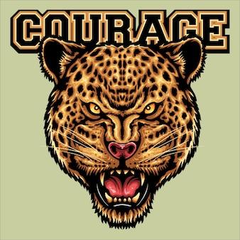 Tête de jaguar