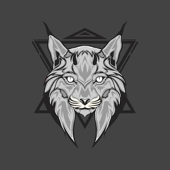 Tête de lynx
