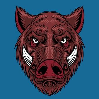 Tête de porc