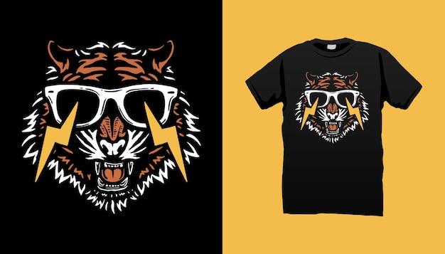 Tête de tigre électrique