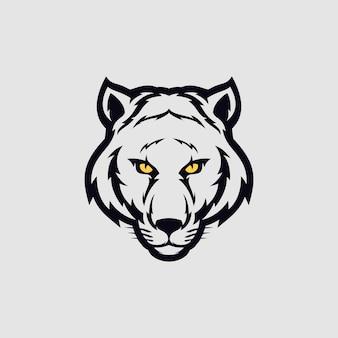 Tête de tigre logo