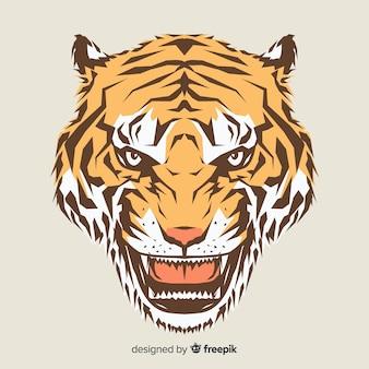 Tête de tigre