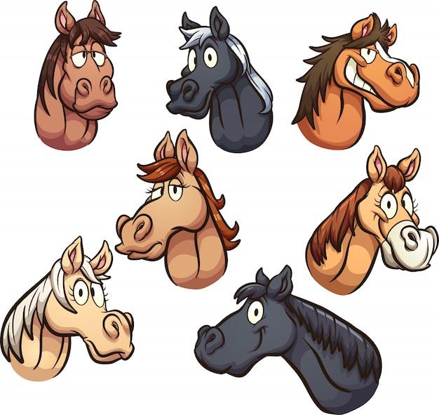 Têtes de cheval