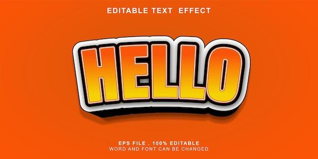 Text-effect-editable-bonjour