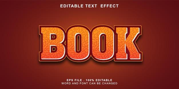 Text-effect-editable-book