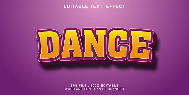 Text-effect-editable-dance