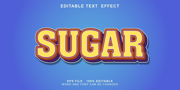 Text-effect-editable-sucre