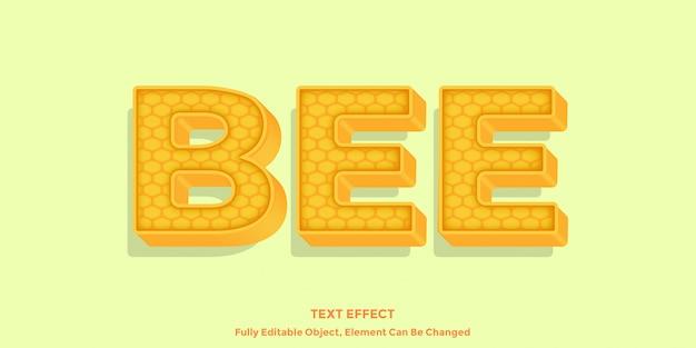 Texte d'abeille miel