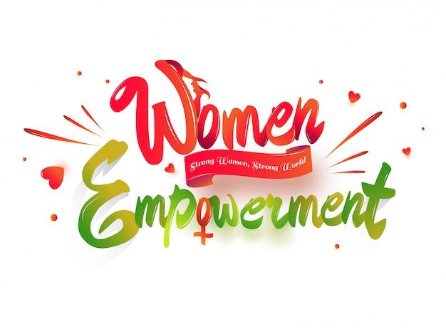 Texte d'autonomisation des femmes.