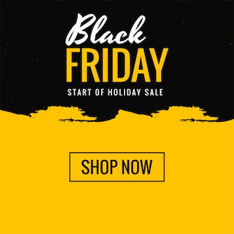 Texte créatif de belle vente de magasinage vendredi noir