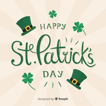 Texte st patrick's background