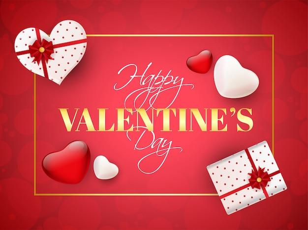 Texte stylé joyeuse saint valentin