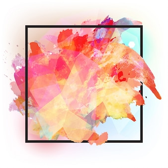Texture abstrait carré multicolore