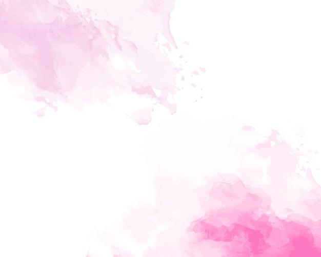 Texture abstraite aquarelle douce rose.