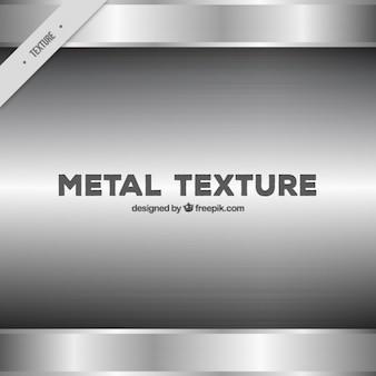 Texture en acier brillant