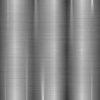 Texture en acier inoxydable en métal brossé