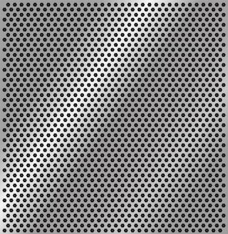 Texture en acier perforé