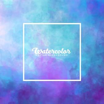 Texture aquarelle abstraite bleue