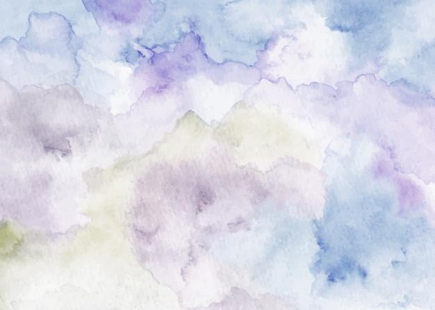 Texture aquarelle abstraite douce bleu violet