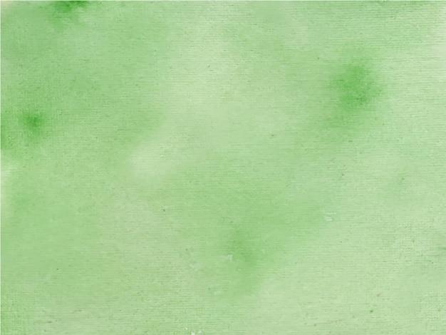 Texture aquarelle abstraite lumineuse verte