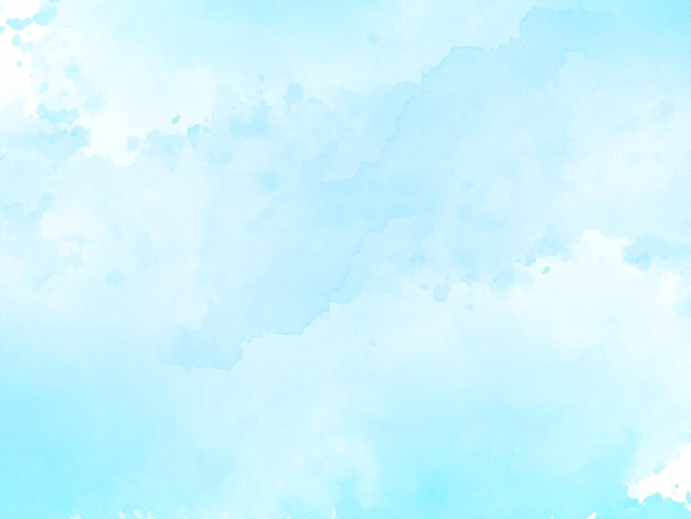 Texture aquarelle bleu doux
