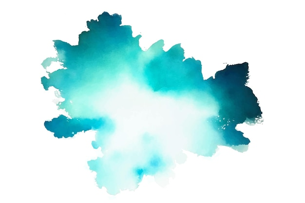 Texture aquarelle de couleur turquoise