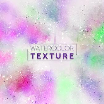 Texture aquarelle avec des nuances roses et vertes
