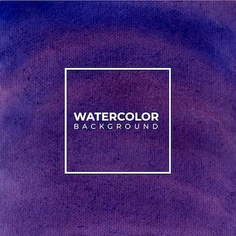 Texture aquarelle peinte à la main de fond violet