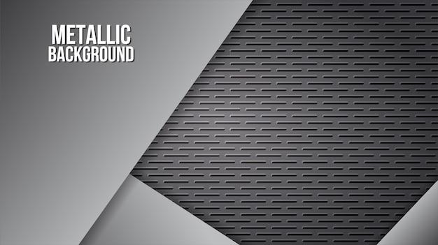 Texture d'arrière-plan métallique plaques d'acier en aluminium conception abstraite