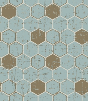 Texture en bois peint polygone vintage sans soudure