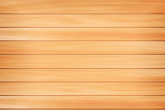 Texture bois réaliste fond en bois brun clair naturel plancher de table ou surface de pin murale