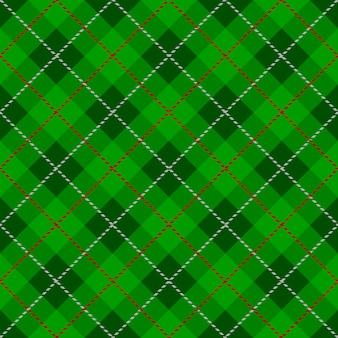 Texture à carreaux motif tartan vert transparent