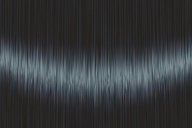 Texture de cheveux raides bleu noir réaliste