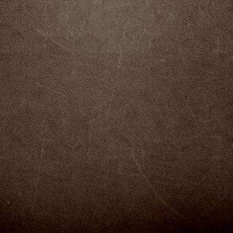 Texture de cuir brun