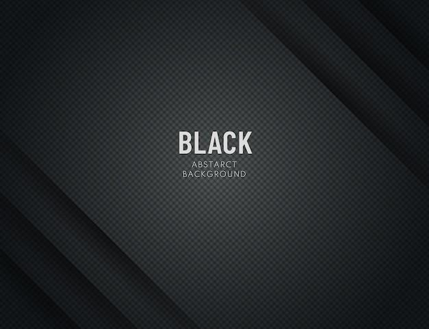Texture diagonale de lignes abstraites dégradé noir sur fond sombre.