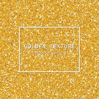 Texture dorée scintillante