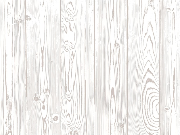 Texture du bois de vecteur. matériau naturel sur fond blanc.