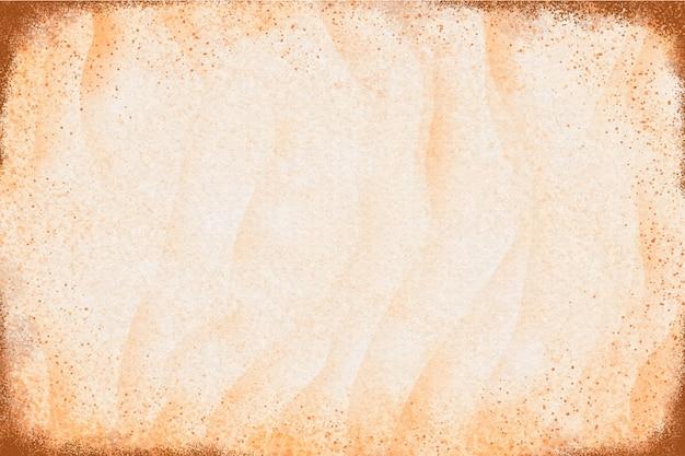 La texture du papier granuleux