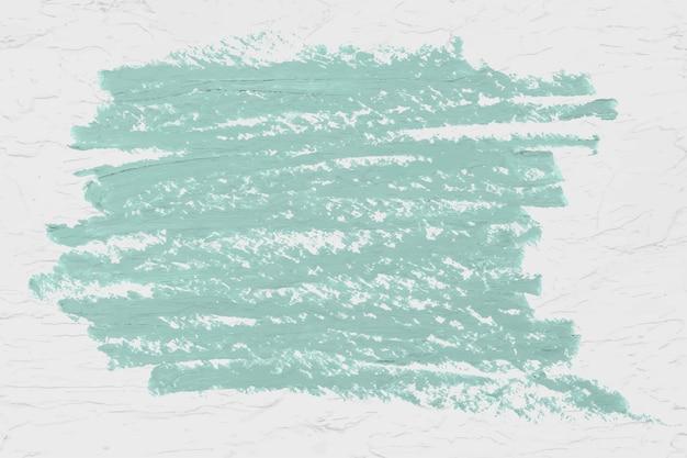 Texture du trait de pinceau vert
