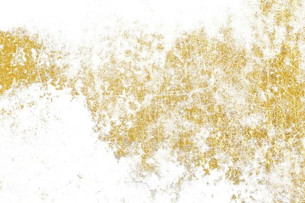 Texture éclaboussée d'or