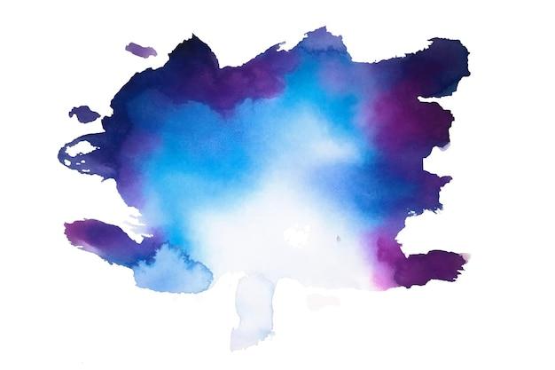 Texture d'éclaboussure de tache aquarelle abstraite