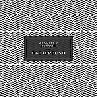 Texture élégante moderne répétition de carreaux géométriques avec une grille de triangles de différentes formes