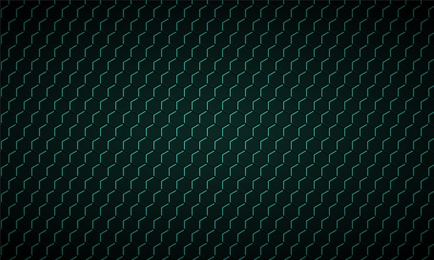 Texture de fibre de carbone hexagone vert foncé texture métallique en nid d'abeille vert fond en acier