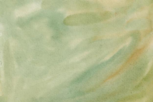 Texture de fond abstrait aquarelle verte