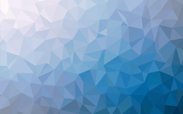 Texture de fond abstrait bleu low poly. fond polygonale créatif.