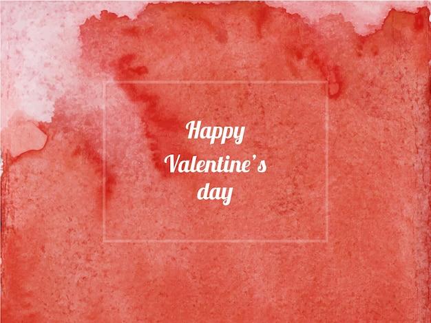 Texture de fond aquarelle abstraite saint-valentin