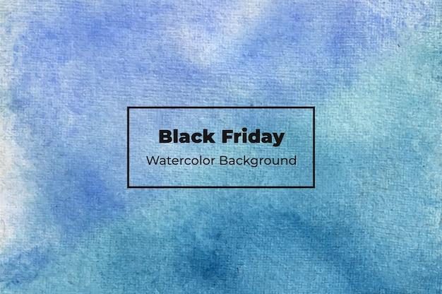 Texture de fond aquarelle abstraite vendredi noir